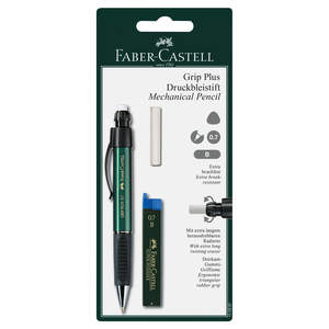Green Faber-Castell Grip Plus Mechanical Pencil 0.7mm - 1