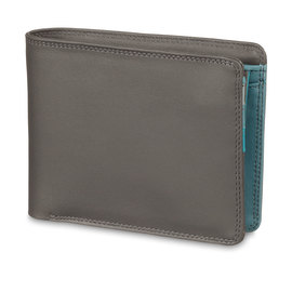 Mywalit Standard Wallet with Coin Pocket Smoke Grey - 1