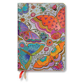 Midi Paperblanks Flutterbyes 2019 Diary Verso Week-to-View - 1