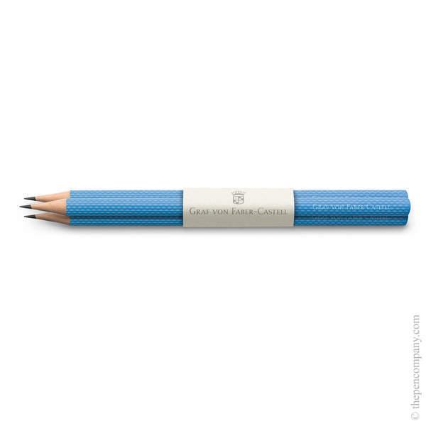 Gulf Blue Graf von Faber-Castell Guilloche Pencils Graphite Pencil