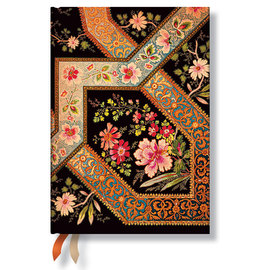 Paperblanks Filigree Floral Ebony 2015-16 academic diary - 1