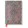 Lined Midi Paperblanks Blush Pink Silver Filigree Journal - 1