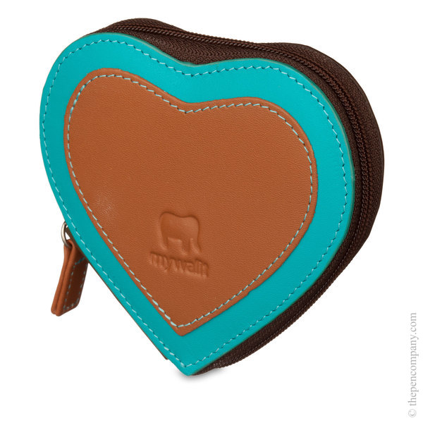 Chocolate Mousse Mywalit Heart Coin Purse Coin Purse