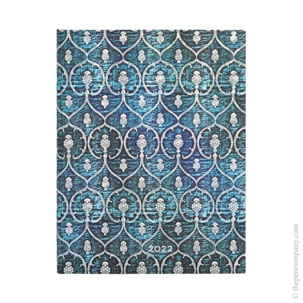 Ultra Paperblanks Blue Velvet 2022 Diary 2022 Diary