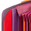 Mywalit Zip Around Fan Card Holder Sangria Multi - 3