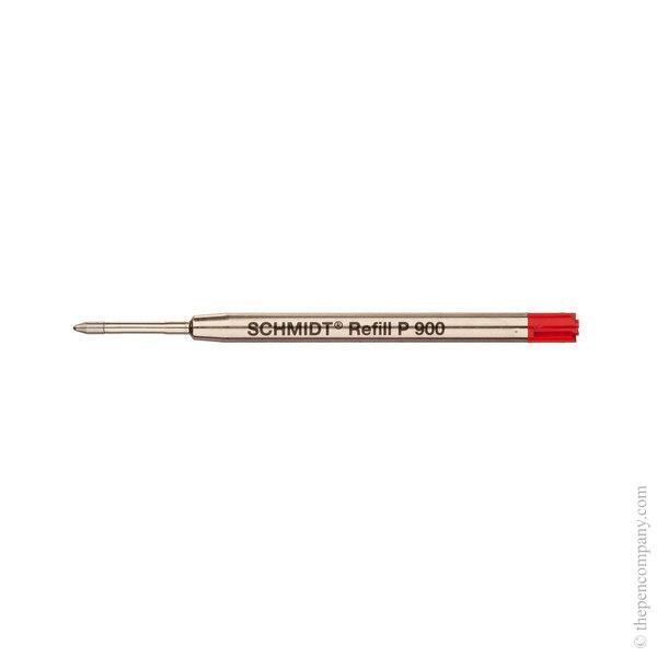 Red Schmidt P900 Ballpoint Refill Medium