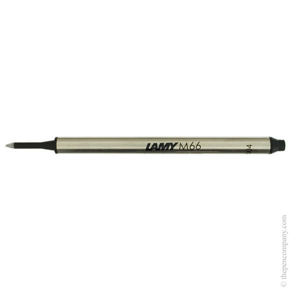 Black Lamy M66 Capless Rollerball Refill Medium