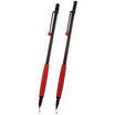 Tombow Zoom 707 ball pen and pencil set black with red trim - 2