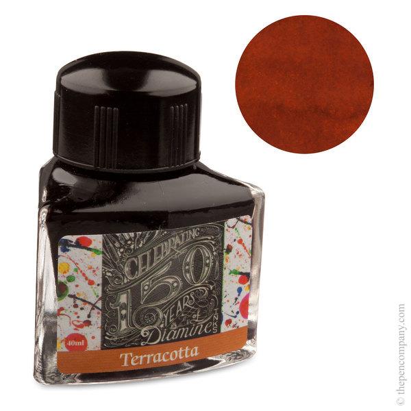 Terracotta Diamine Bottled 150th Anniversary Ink