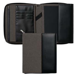 Light Grey A5 Hugo Boss Advance Conference Folder - 6