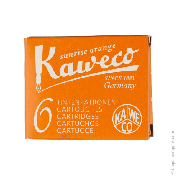 Sunrise Orange Kaweco Ink Cartridges Ink Cartridges