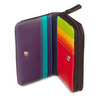 Mywalit Small Wallet with Zip-Around Purse Black Pace - 2