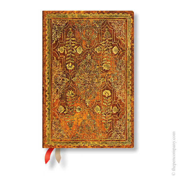 Mini Paperblanks Fall Filigree 2021 Diary 2021 Diary