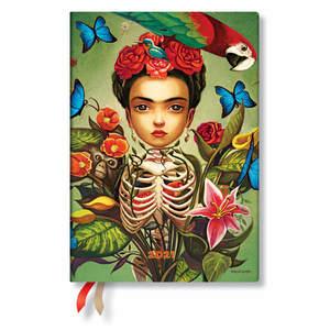 Paperblanks Frida Esprit de Lacombe Flexi 2021 Diary Midi