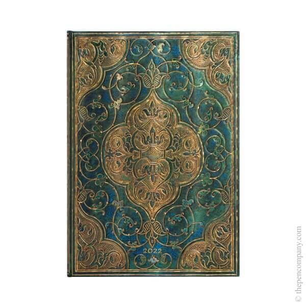 Grande Paperblanks Turquoise Chronicles 2022 Diary 2022 Diary