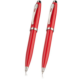 Ferrari 100 ballpoint and pencil set - red - 2