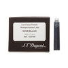 Black old Dupont fountain pen cartridge - 1