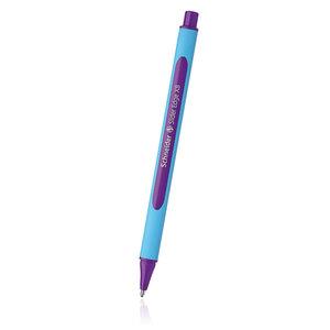 Purple Schneider Slider Edge XB ballpoint pen - 1