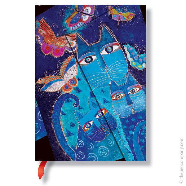 Midi Paperblanks Laurel Burch - Fantastic Felines Journal Journal