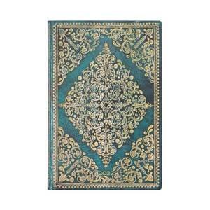 Paperblanks Oceania Diamond Rosette 2022 Diary Mini - Front