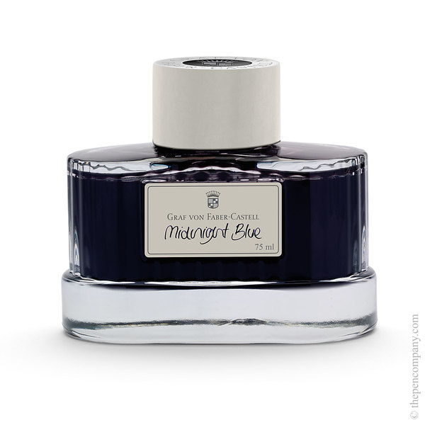 Midnight Blue Graf von Faber-Castell Bottled Fountain Pen Ink