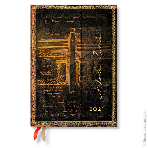 Midi Paperblanks Embellished Manuscripts 2021 Diary 2021 Diary