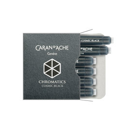 Cosmic Black Caran d'Ache Chromatics Cartridges