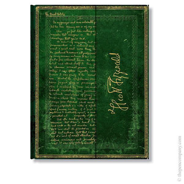Ultra Paperblanks Embellished Manuscripts Journal Journal Fitzgerald, The Great Gatsby Lined