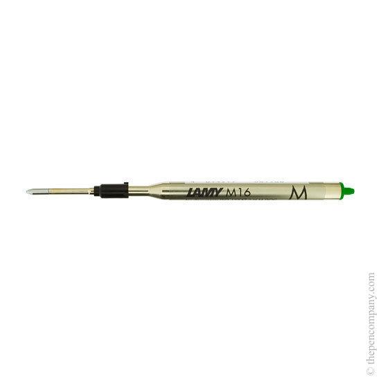 Lamy M16 Ballpoint Pen Refill Green Medium - 1