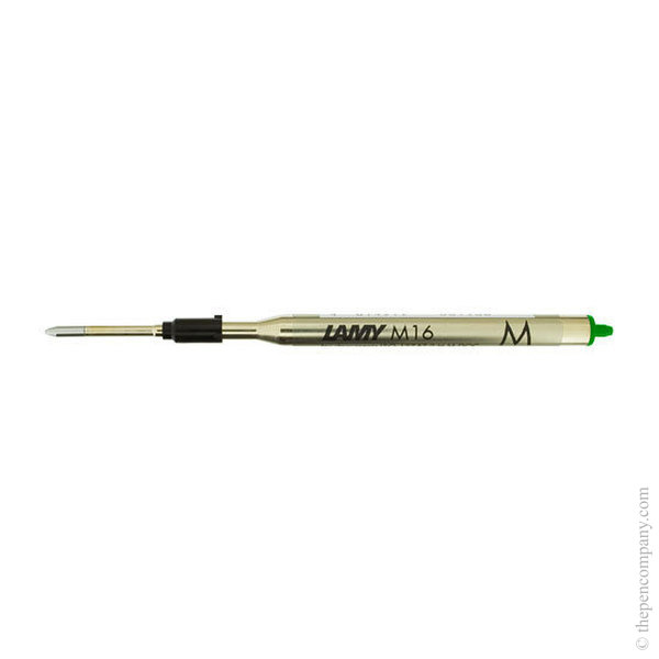 Green Lamy M16 Ballpoint Pen Refill Medium
