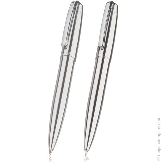 Sheaffer 500 chrome ballpoint and pencil set - 1