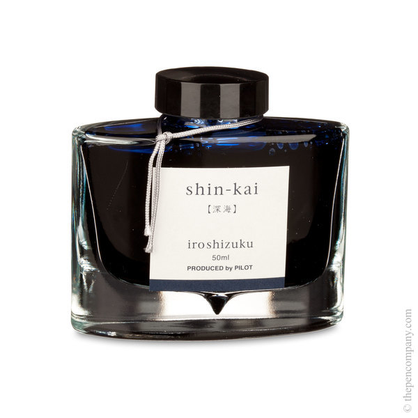 Shin-Kai Pilot Bottled Iroshizuku Ink