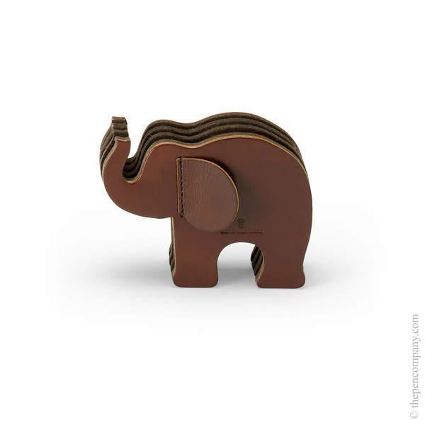 Small Dark Brown Graf von Faber-Castell Little Giants - Elephant Pen Holder
