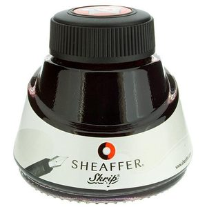 Sheaffer Skrip Fountain Pen Ink Bottle Red - 2