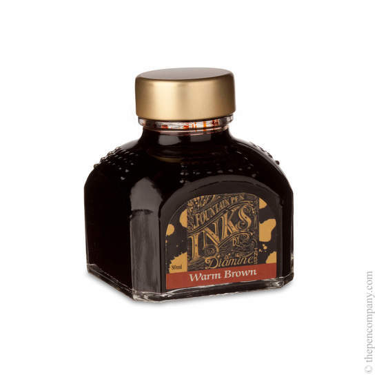 Diamine Warm Brown Fountain Pen Ink 80ml - 1