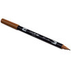 Tombow ABT brush pen 977 Saddle Brown - 2