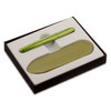 Lime Green Fisher Space Pen Bullet with Slip Case Set - 1