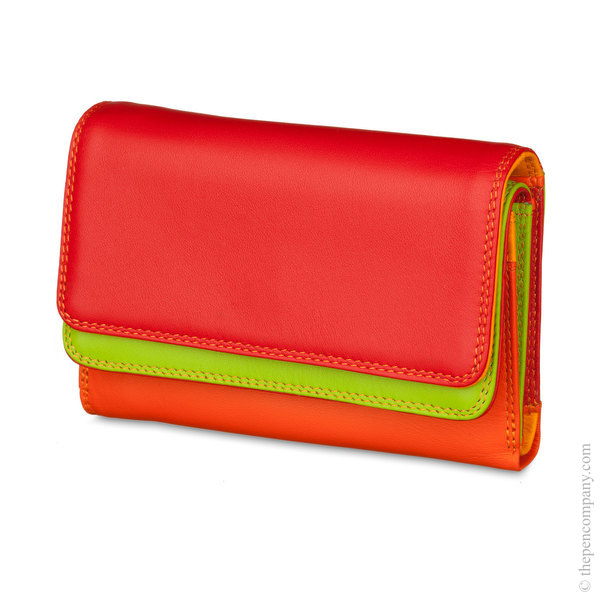 Jamaica Mywalit Double Flap Wallet/ Purse