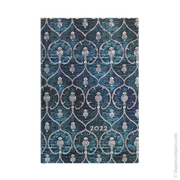 Mini Paperblanks Blue Velvet 2022 Diary 2022 Diary