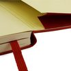 Moleskine Classic Hard Cover Notebook Red Large Unlined - 4