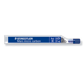 Staedtler Mars Micro 0.7mm 2H pencil leads - 1