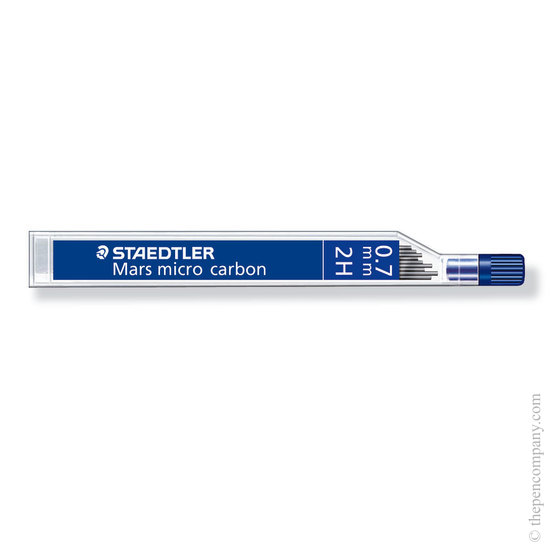 Staedtler Mars Micro 0.7mm 2H pencil leads - 1