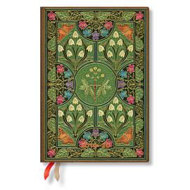 Midi Paperblanks Poetry in Bloom Flexi 2019-2020 18 Month Diary Horizontal Week-to-View - 1