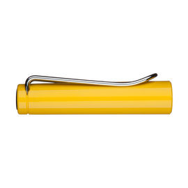 Yellow Lamy Safari fountain pen cap