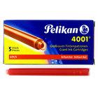 Pelikan Giant Ink Cartridges Red - 1