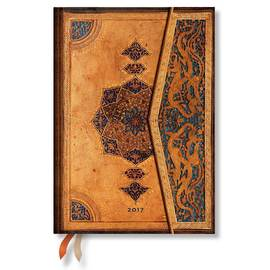 Paperblanks Midi Day-at-a-Time Safavid 2017 Diary - 1