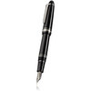 Black and Rhodium Sailor 1911 Realo Fountain Pen - 5