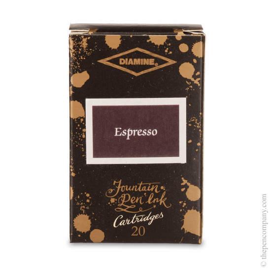 Espresso Diamine 150th Anniversary Ink Cartridges - 1