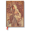 Lined Mini Paperblanks Winter Child Mucha Journal - 1