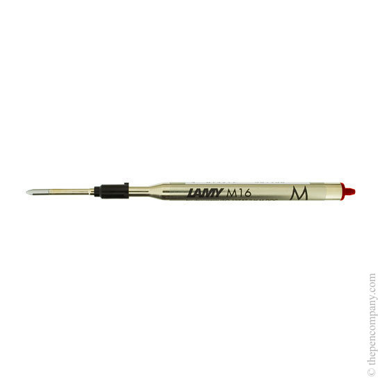 Lamy M16 Ballpoint Pen Refill Red Medium - 1